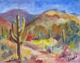Sabino Study #1, oil on canvas panel by Barbara Strelke